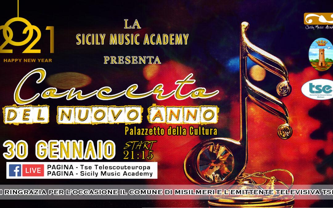 """Sabato 30 in onda su Tse il """"Concerto del nuovo anno"""" della Sicily Music Academy"""